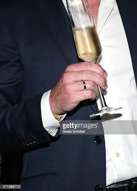 Rainer Schuettler wedding ring detail during the '100 Jahre Internationale Tennismeisterschaften von Bayern' Gala Evening on April 27 2015 in Munich...