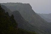Rainfall on the Rift Valley Escarpment