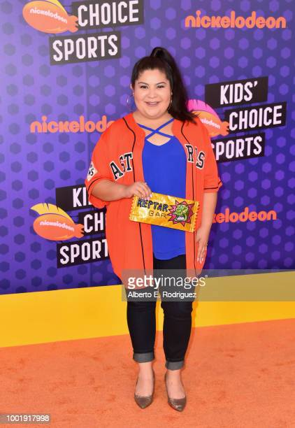Raini Rodriguez attends the Nickelodeon Kids' Choice Sports 2018 at Barker Hangar on July 19, 2018 in Santa Monica, California.