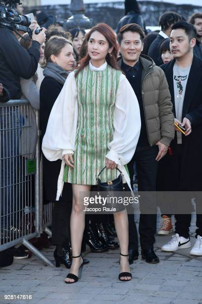 Rainie Yang attends the Louis Vuitton show as part of the Paris Fashion Week Womenswear Fall/Winter 2018/2019 on March 6 2018 in Paris France