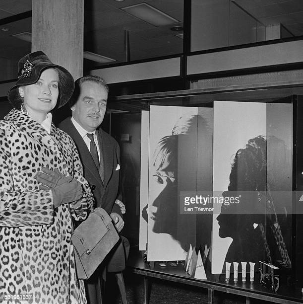 Rainier III, Prince of Monaco and Princess Grace arrive in Monaco, 3rd November 1959.