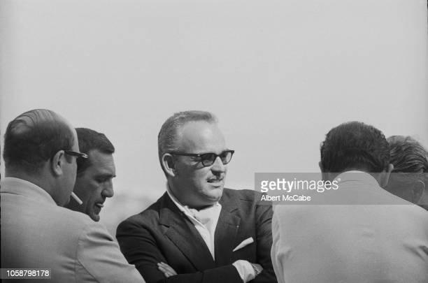 Rainier III, Prince of Monaco , attend a party in Mallorca, Spain, 2nd July 1961.