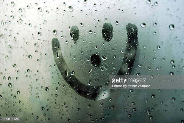 raining - smiley face stock pictures, royalty-free photos & images