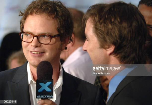 Rainn Wilson and Luke Wilson during My Super ExGirlfriend New York Premiere at Chelsea Clearview Cinema in New York City New York United States