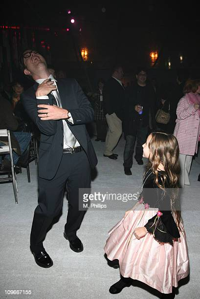Rainn Wilson and Rhiannon Leigh Wryn during The Last Mimzy Los Angeles Premiere After Party at The Mann Village Theatre in Westwood California United...