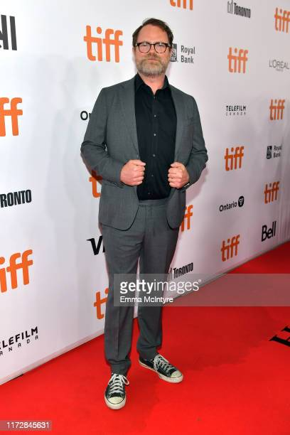 Rainn Wilson attends the Blackbird premiere during the 2019 Toronto International Film Festival at Roy Thomson Hall on September 06 2019 in Toronto...