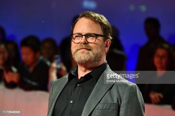 "Rainn Wilson attends the ""Blackbird"" premiere during the 2019 Toronto International Film Festival at Roy Thomson Hall on September 06, 2019 in..."