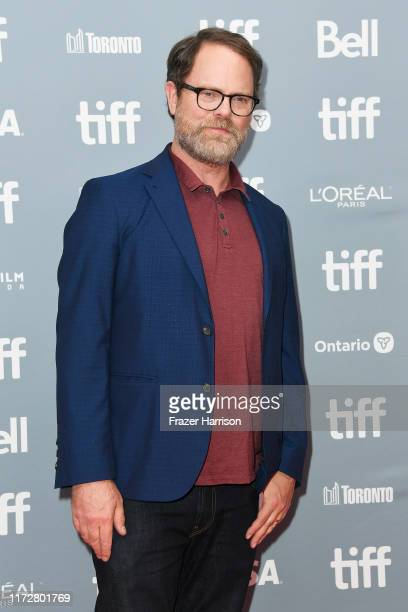 "Rainn Wilson attends the ""Blackbird"" press conference during the 2019 Toronto International Film Festival at TIFF Bell Lightbox on September 06, 2019..."