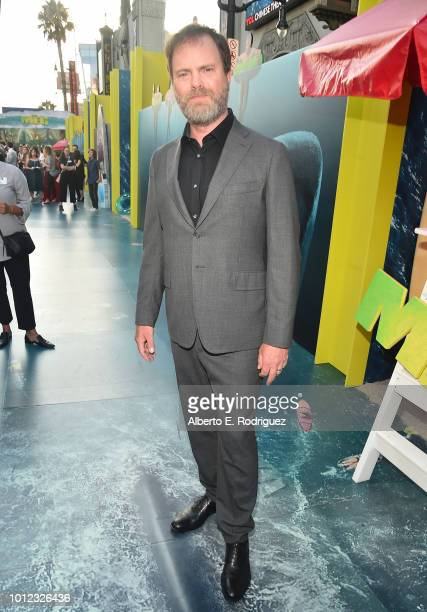 Rainn Wilson attends the premiere of Warner Bros Pictures And Gravity Pictures' The Meg at TCL Chinese Theatre IMAX on August 6 2018 in Hollywood...