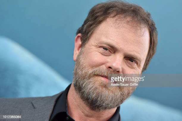 Rainn Wilson attends the premiere of Warner Bros Pictures and Gravity Pictures' 'The Meg' at TCL Chinese Theatre IMAX on August 6 2018 in Hollywood...