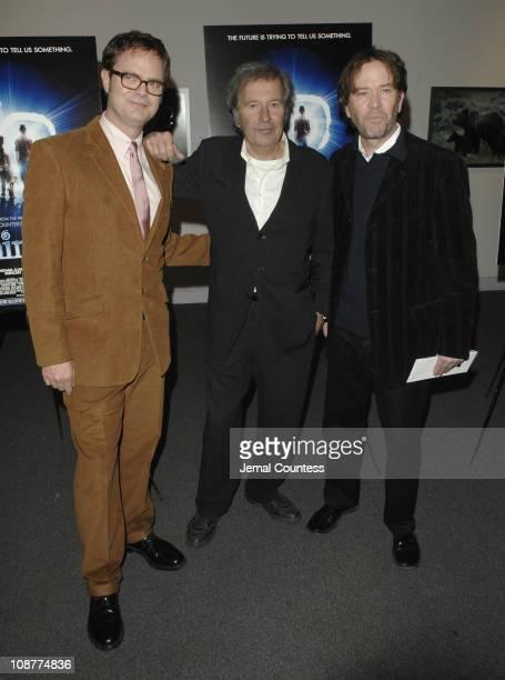 Rainn Wilson, Bob Shaye, director and Timothy Hutton