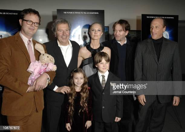 Rainn Wilson, Bob Shaye, director, Joely Richardson, Timothy Hutton, Bruce Ruben, Rhiannon Leigh Wryn and Chris O' Neil