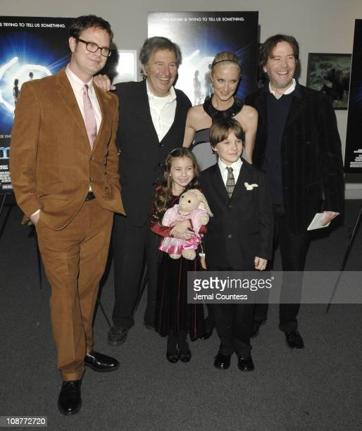 Rainn Wilson Bob Shaye director Joely Richardson Timothy Hutton Rhiannon Leigh Wryn and Chris O' Neil