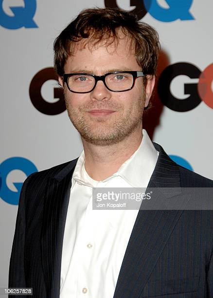 Rainn Wilson during GQ Man of the Year Awards - Arrivals at Sunset Tower Hotel in Los Angeles, California, United States.