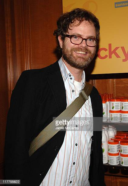 Rainn Wilson during The 4th Annual Lucky Club Day 2 at The RitzCarlton Central Park South in New York City New York United States