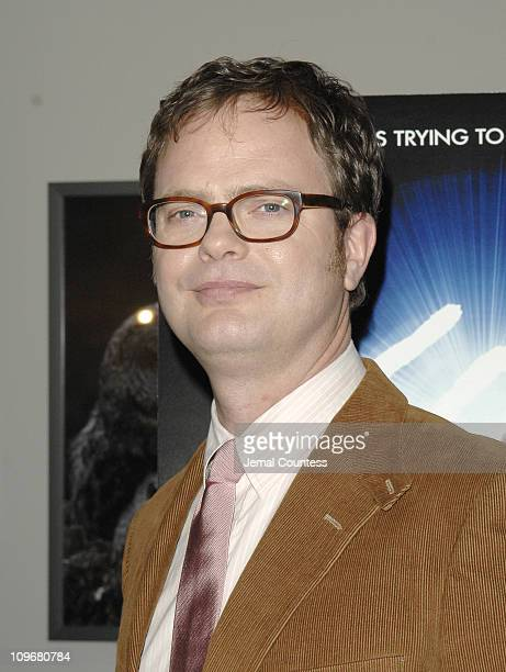Rainn Wilson during The Last Mimzy New York Premiere Arrivals at American Museum of Natural History in New York City New York United States