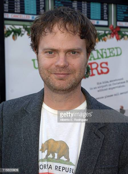 Rainn Wilson during Unaccompanied Minors World Premiere Red Carpet at Grauman's Chinese Theatre in Hollywood California United States