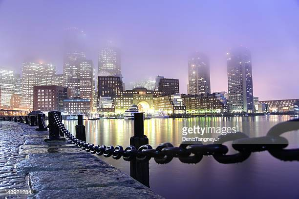 Rainy Boston