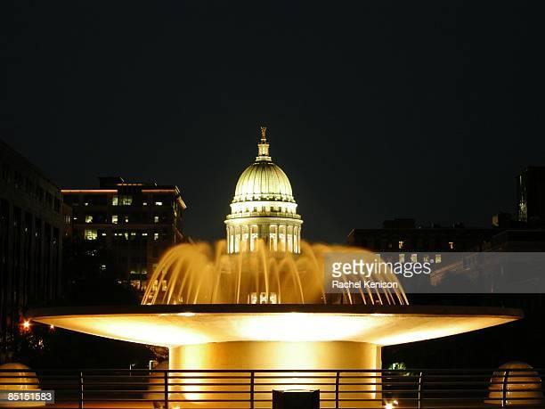 Rainy Day at the Capitol
