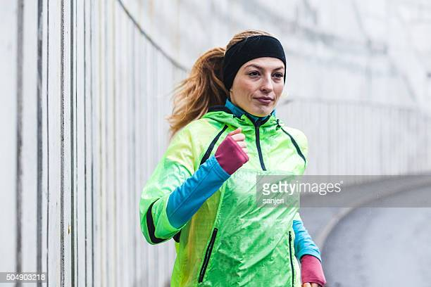 Rainy day exercising
