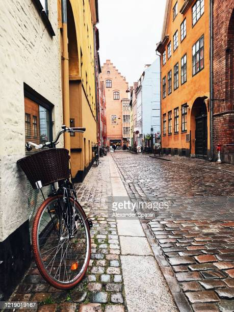 rainy day in copenhagen, denmark - copenhagen stock pictures, royalty-free photos & images