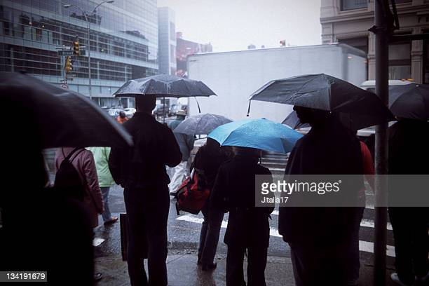 Rainy Day in New York City