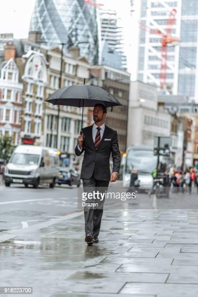 Verregneter Tag in der Stadt