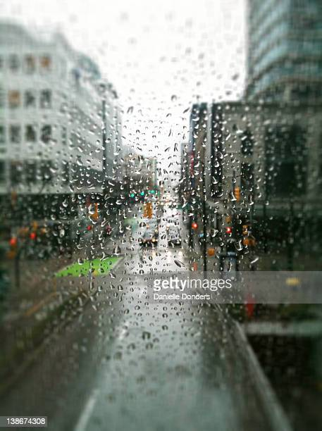 """rainy day in vancouver - """"danielle donders"""" stock pictures, royalty-free photos & images"""