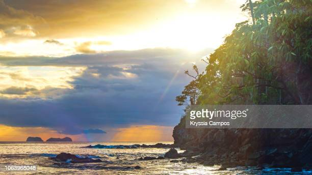 Rainy Day Sunset at Pacific Ocean, Guanacaste - Costa Rica