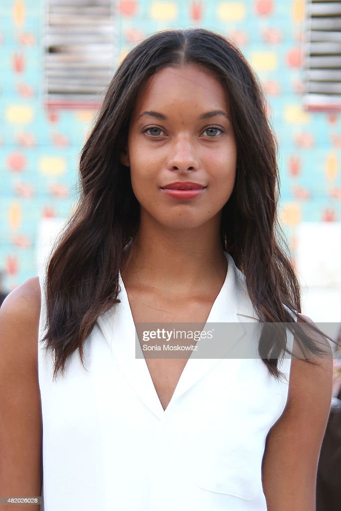Rainy Forkner attends the 22nd Annual Summer Benefit and Auction at The Watermill Center, 'Circus of Stillness', on July 25, 2015 in Water Mill, New York.