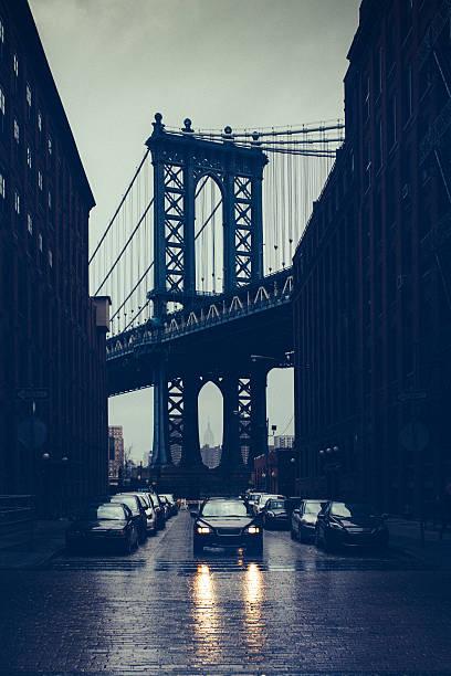 Rainy New York City Wall Art