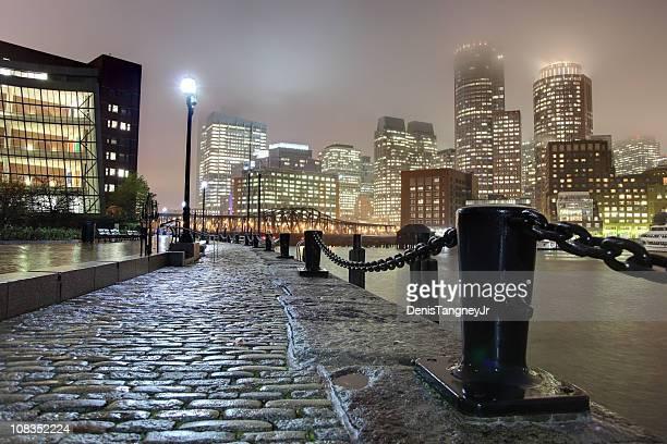 Rainy night in Boston