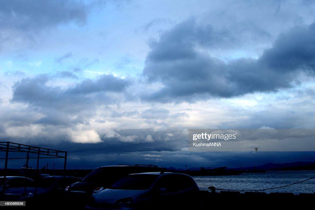 Rainy sky : Stock Photo
