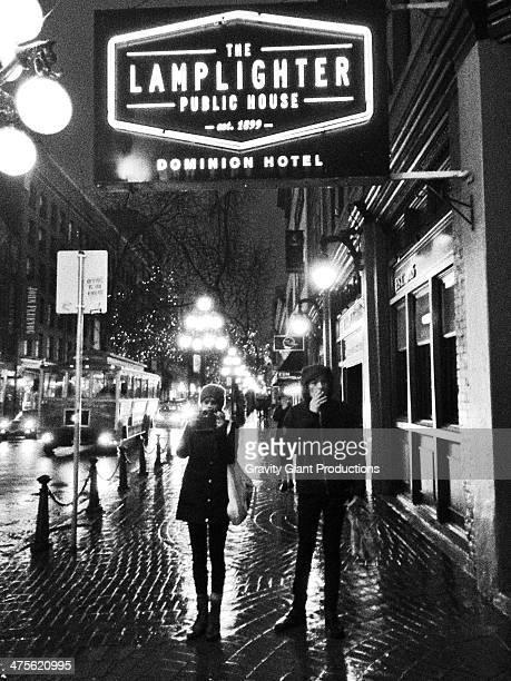 Rainy Vancouver night
