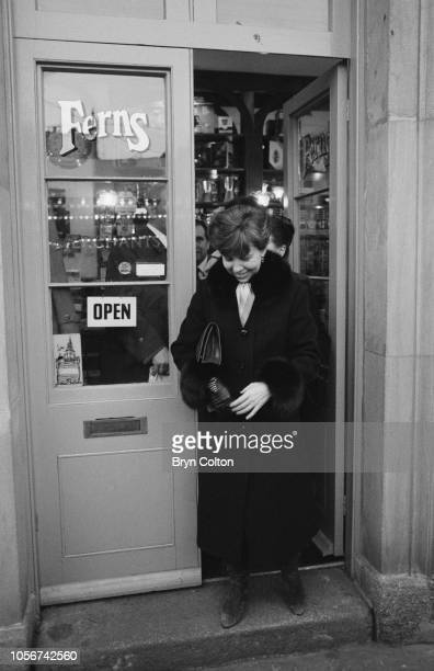 Raisa Gorbachev, wife of Mikhail Gorbachev, Russian Politburo member and second in line at the Kremlin, visits a store in Covent Garden with her...