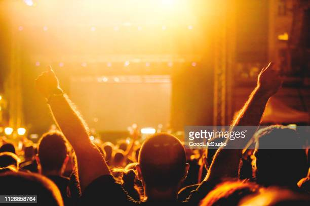 raised hands at a concert - pop music stock pictures, royalty-free photos & images
