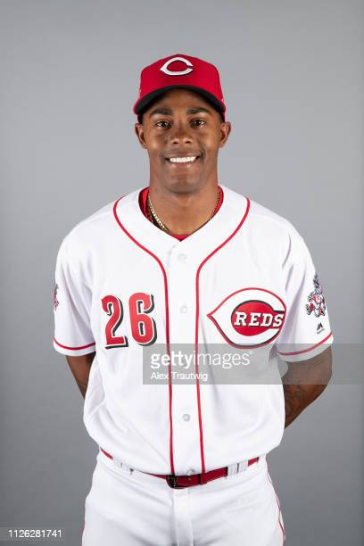 Raisel Iglesias of the Cincinnati Reds poses during Photo Day on Tuesday February 19 2019 at Goodyear Ballpark in Goodyear Arizona