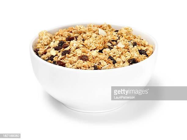 レーズン&アーモンドグラノーラ朝食用シリアルの