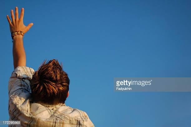 Raising A Hand