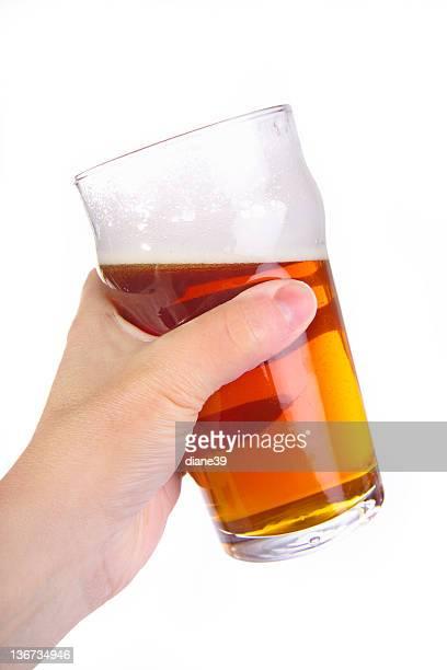 raising a pint