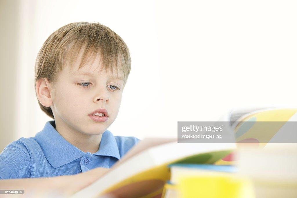 Raising a reader : Stock Photo