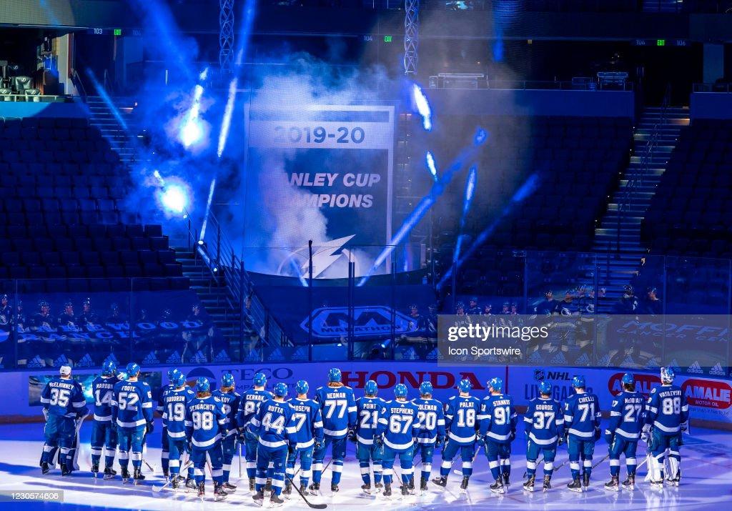 NHL: JAN 13 Blackhawks at Lightning : News Photo