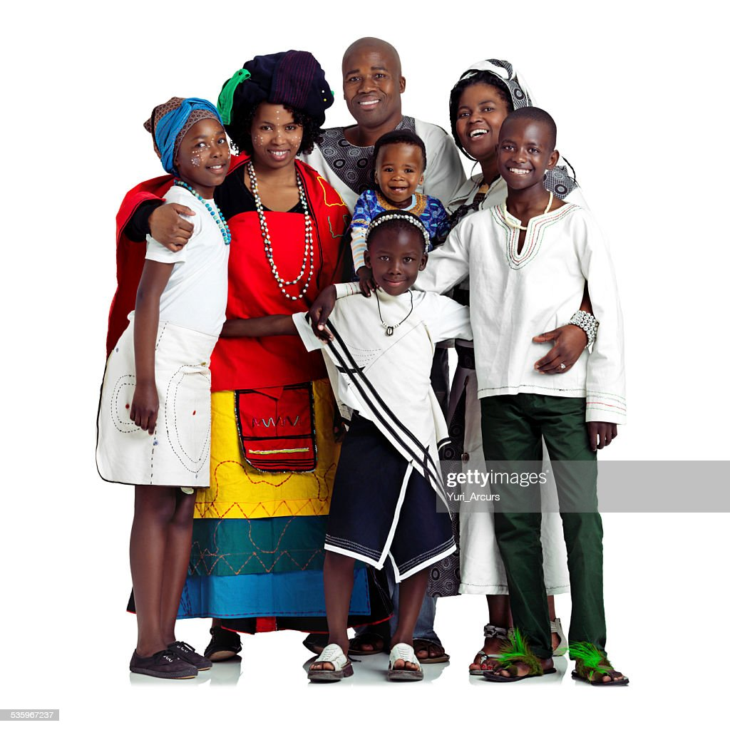 Raising them the traditional way : Stock Photo