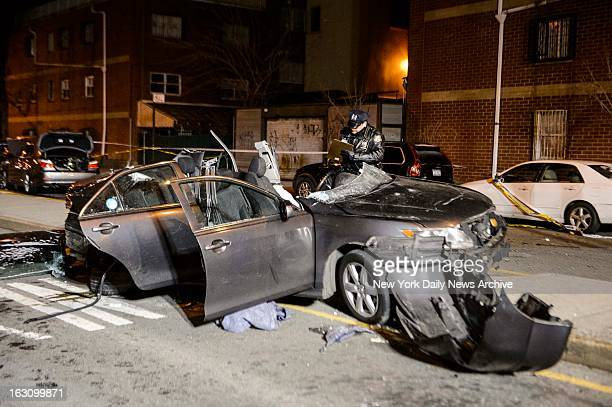 Raizel Glauber and Nachman Glauber both 21 were killed in an accident near the intersection of Kent Ave and Wilson St on Sunday Mar 3 2013 in...