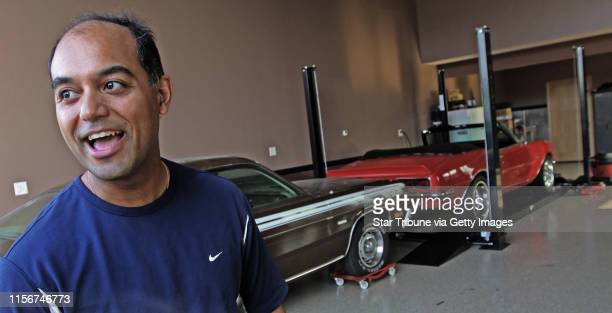 Raj Mehta talked about his car condo which is more like a working garage at the AutoMotorPlex. Thousands of people attended the open house,...