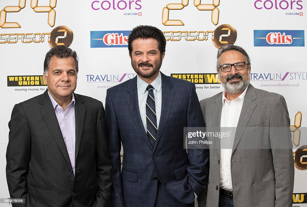 Photocall And Press Conference With Actor Anil Kapoor From TV Series '24' : News Photo