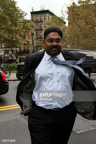 Raj Rajaratnam cofounder of Galleon Group LLC arrives for a hearing at federal court in New York US on Monday Oct 4 2010 Rajaratnam is seeking to...