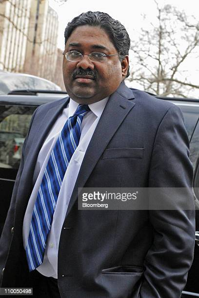 Raj Rajaratnam the Galleon Group cofounder accused of insider trading arrives at federal court in New York US on Monday March 14 2011 Last week under...