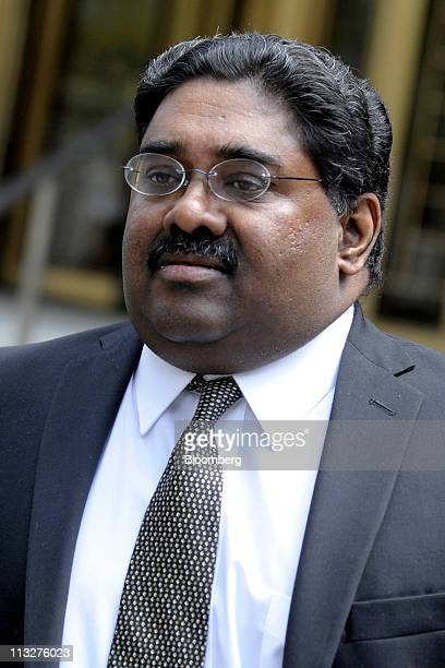 Raj Rajaratnam the Galleon Group LLC cofounder accused of insider trading exits federal court in New York US on Friday April 29 2011 The jury...