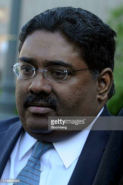 Raj Rajaratnam the Galleon Group LLC cofounder accused of insider trading exits federal court in New York US on Monday May 9 2011 Jurors in the...